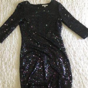BB Dakota Sequin Cocktail Dress